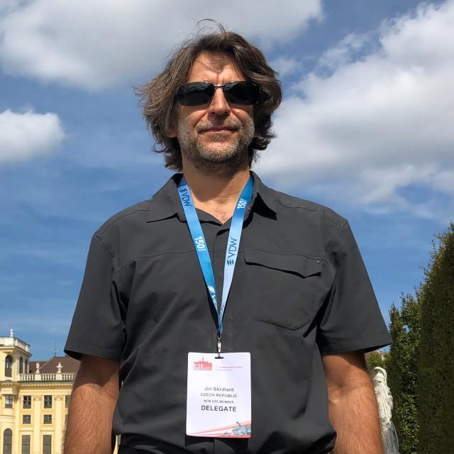 MUDr. Jiří Škrdlant na kongresu ve Vídni